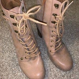 GUESS combat booties